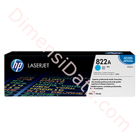 Jual Toner Cartridge HP LaserJet Imaging Drum 822A CYAN [C8561A]
